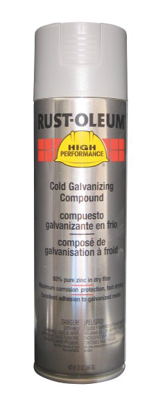 Rust-Oleum High Performance V2185838 Cold Galvanizing Compound Spray