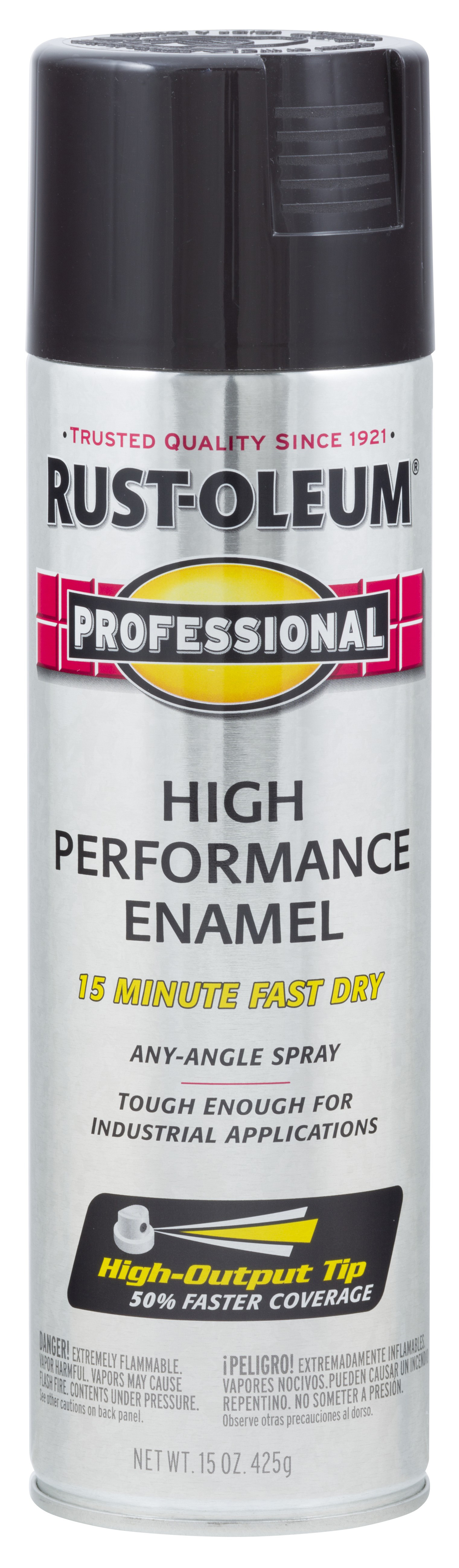 Rust-Oleum Professional Enamel Spray Paint- Semi-Gloss Black 239107