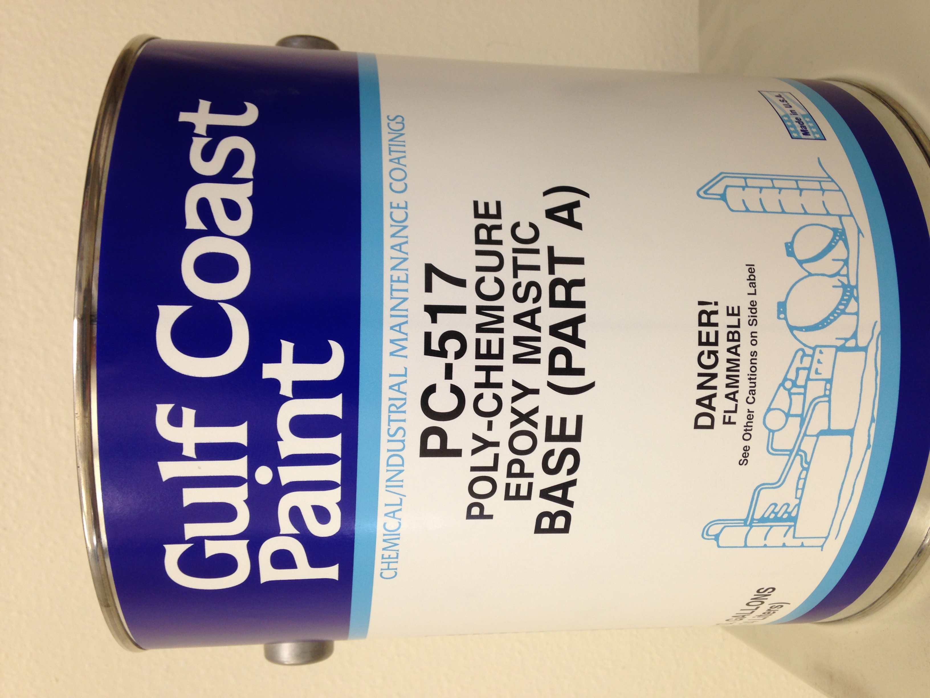 Gulf Coast Paint PC-517 Epoxy Mastic – HPP Industrial Inc